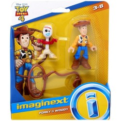 TOY STORY 4 Forky et Woody...